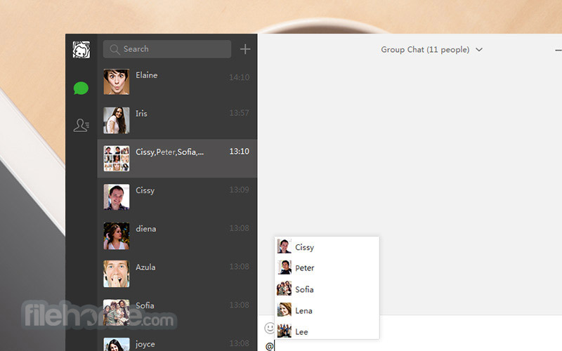 wechat for laptop